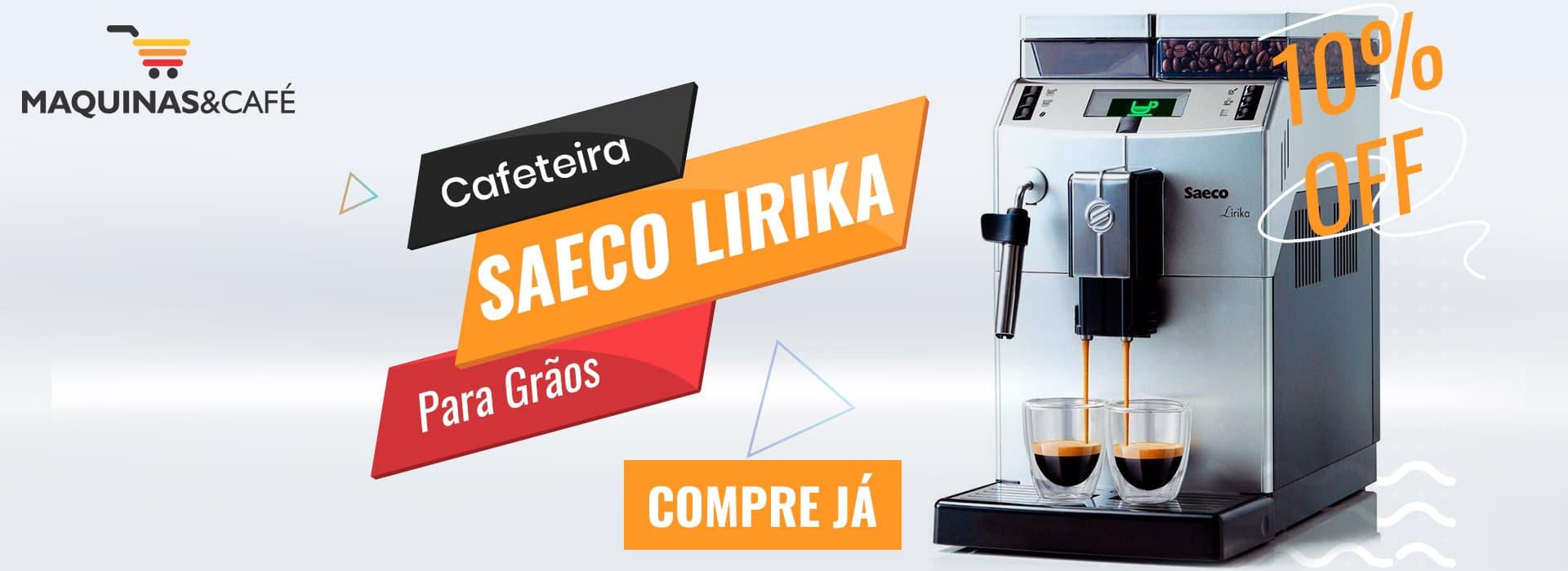Cafeteira Grãos Saeco Lirika