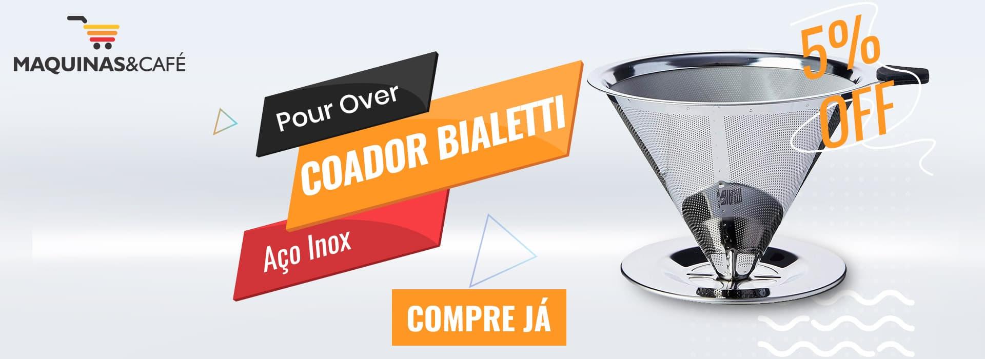 pour over bialetti moka cafeteira italiana